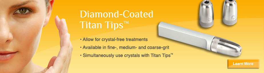 Diamond-Coated Titan Tips